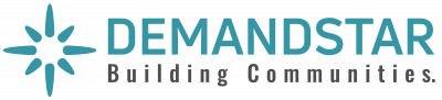 Logo: Demandstar (building communities)